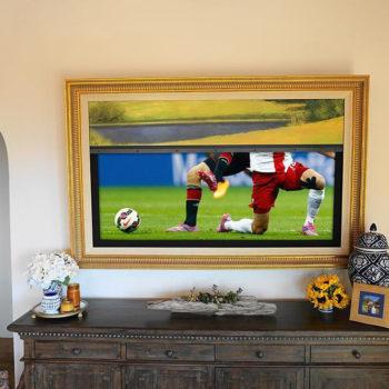 телевизор в багете